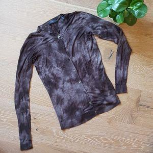 Esprit tie-dye look light cardigan S